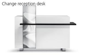 Reception Desk – Perfect for salon designing