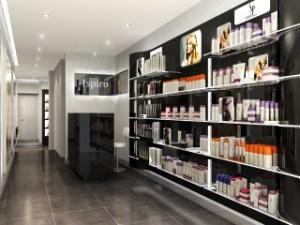 How important is salon retail area ?