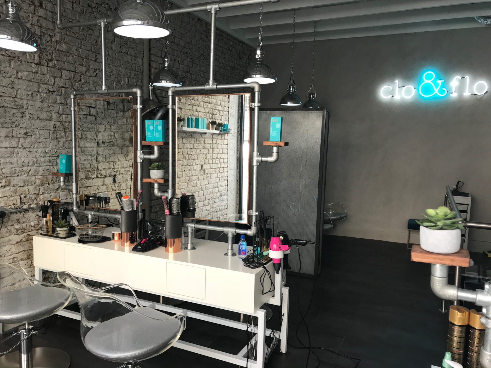 Clo & Flo Hair Salon Design