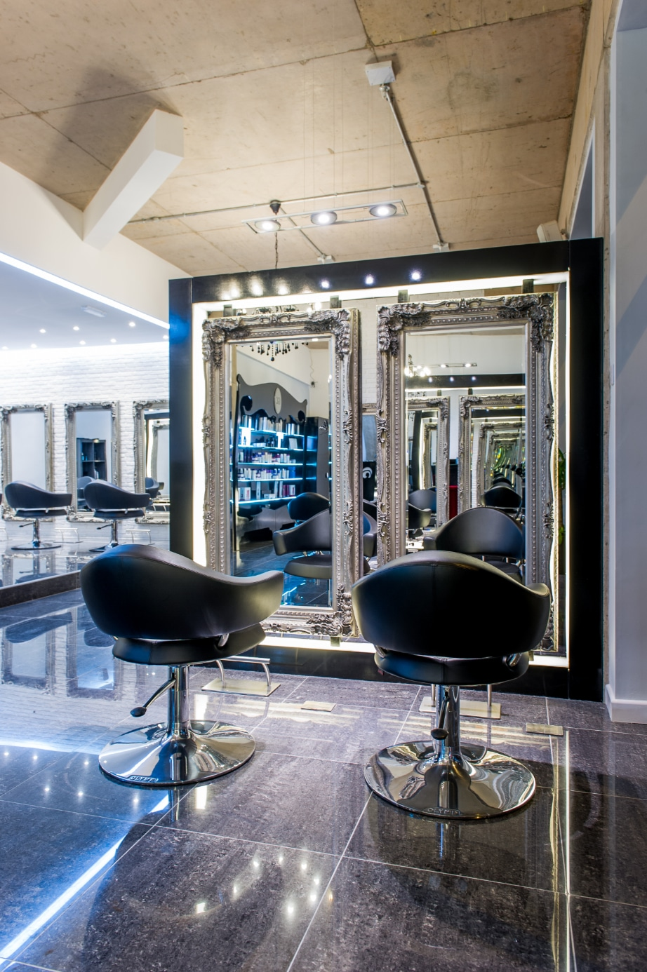 Guy Christian Hair Salon Design