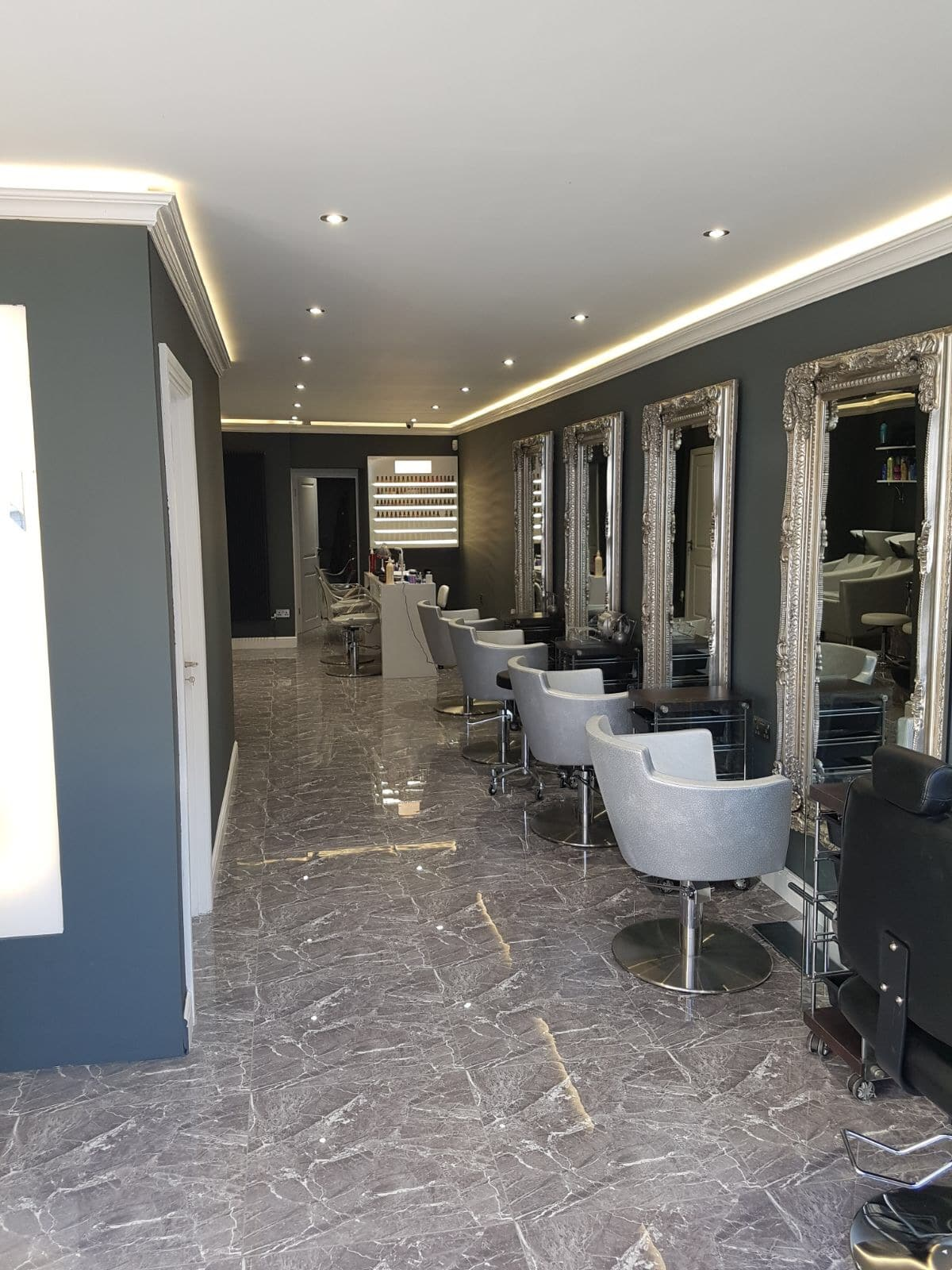 Obsession Hair Salon Design