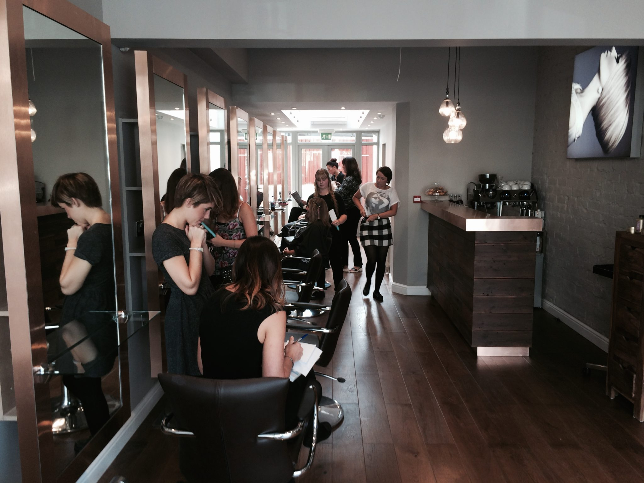 Blush Salon Design
