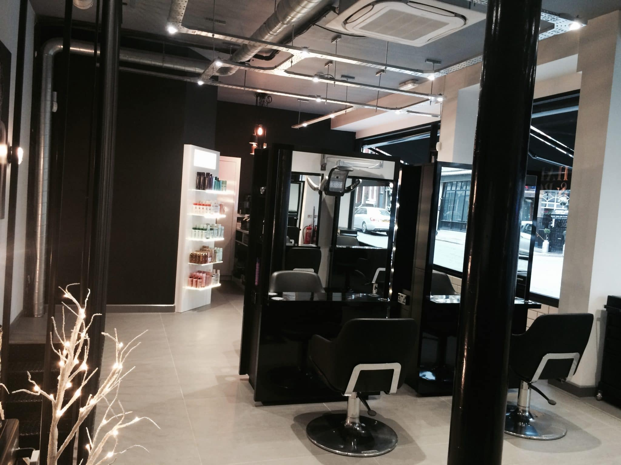 Hare & Bone Hair Salon Design