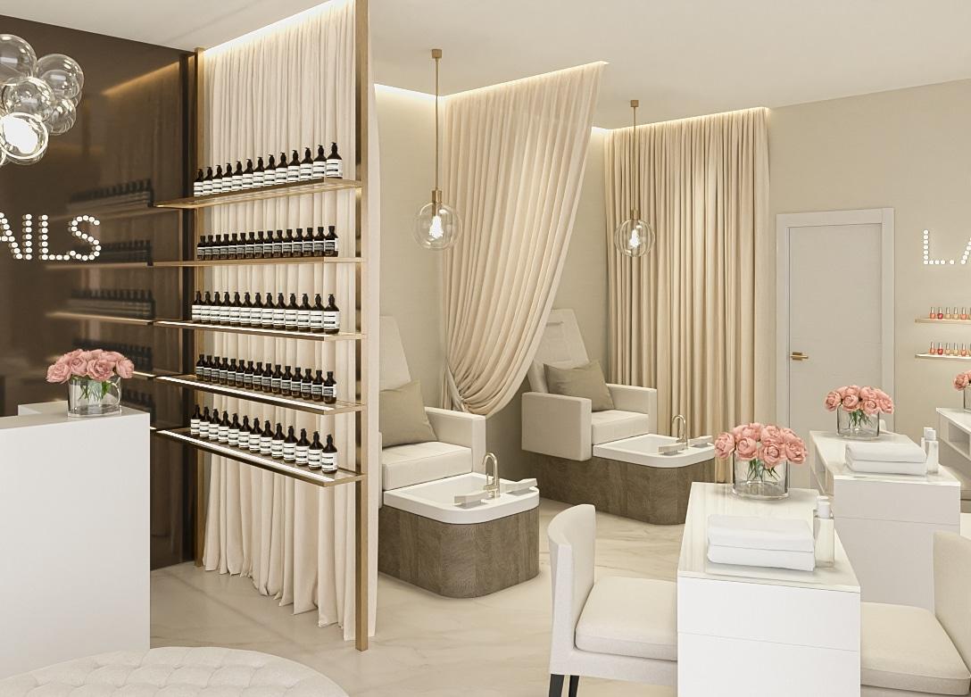LA Nails Salon Design