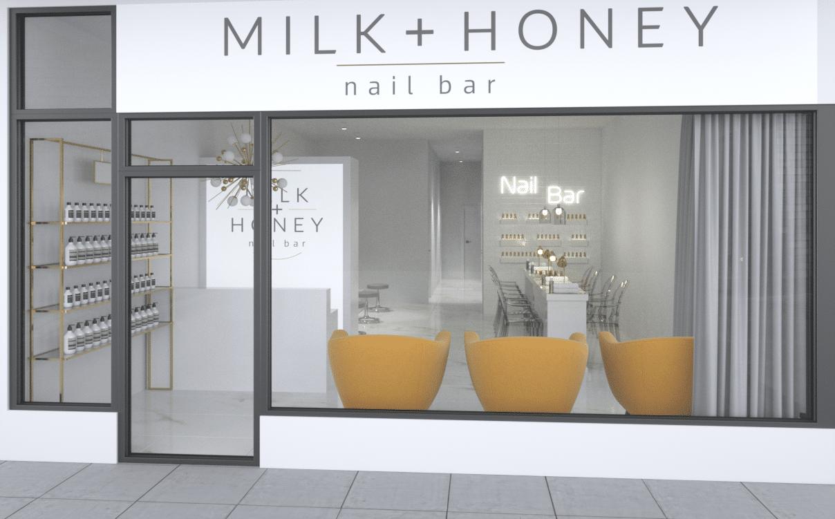 Milk & Honey Beauty Salon Design