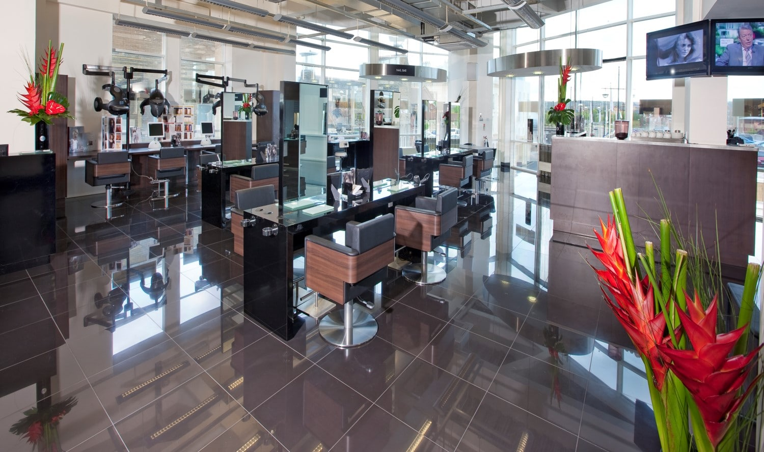 Ken Picton Hair Salon Design