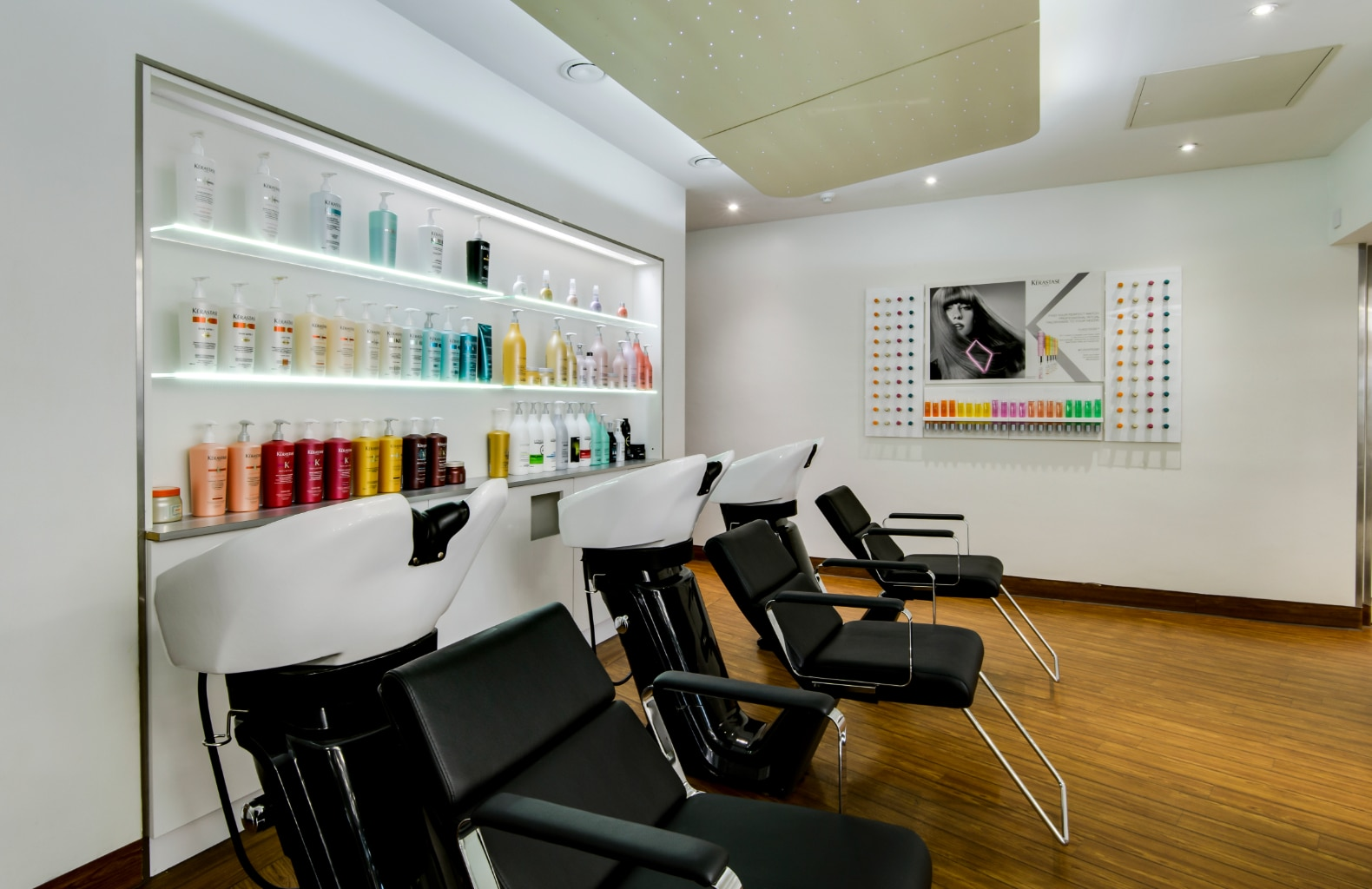 Vanilla Room Hair & Beauty Salon Design