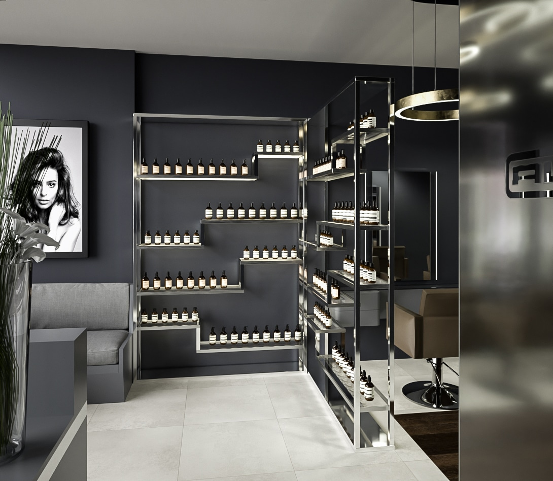 Anita Lawrence Hair Salon Design