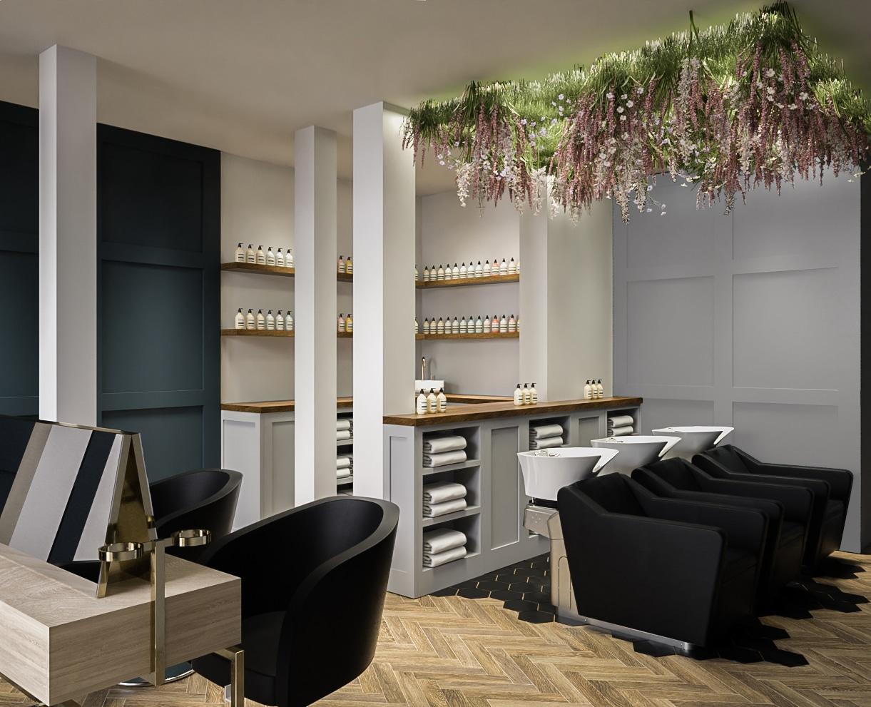 Trinders Hair Salon Design