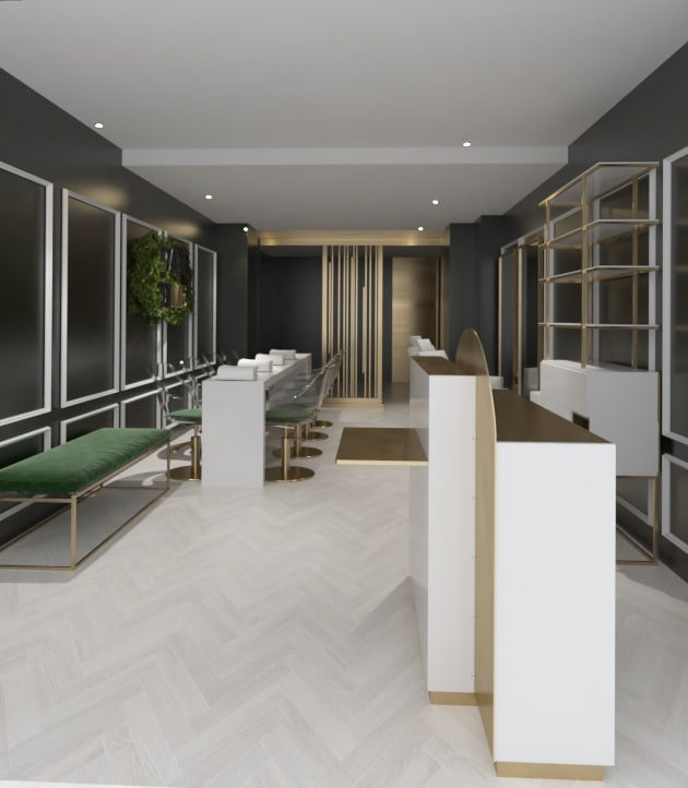 Take Time Beauty Salon Design