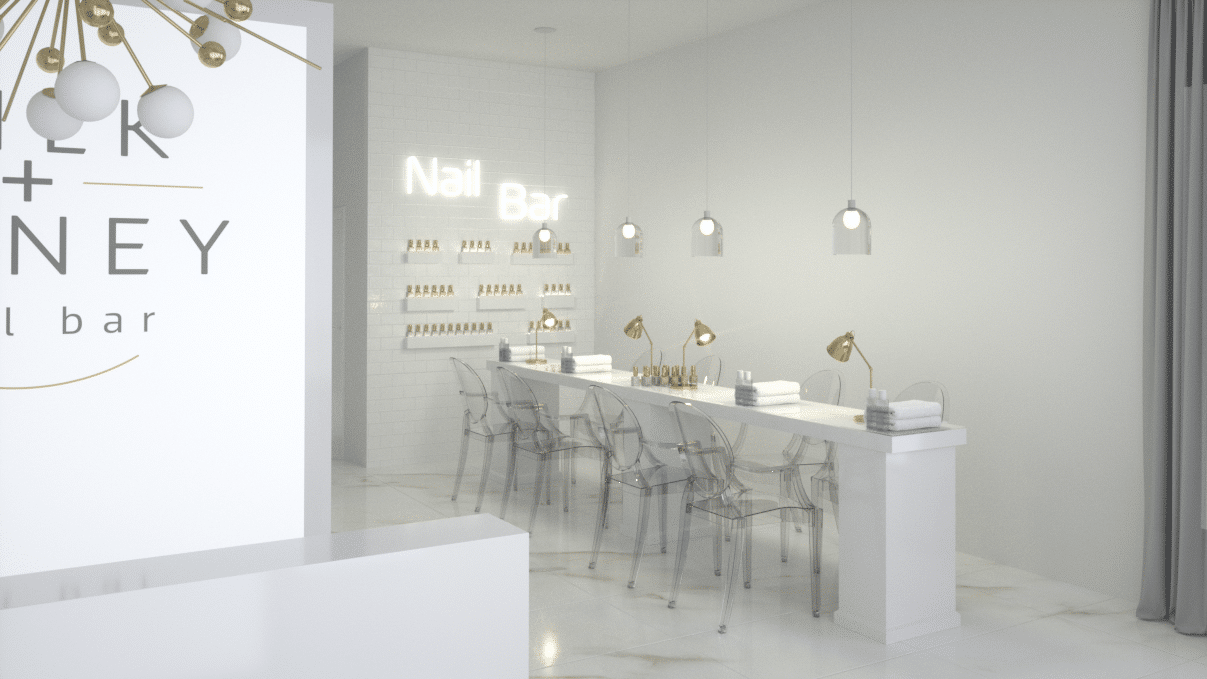 3d salon design