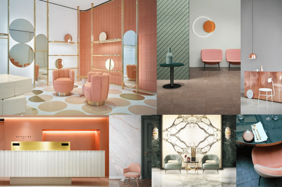 salon design mood board